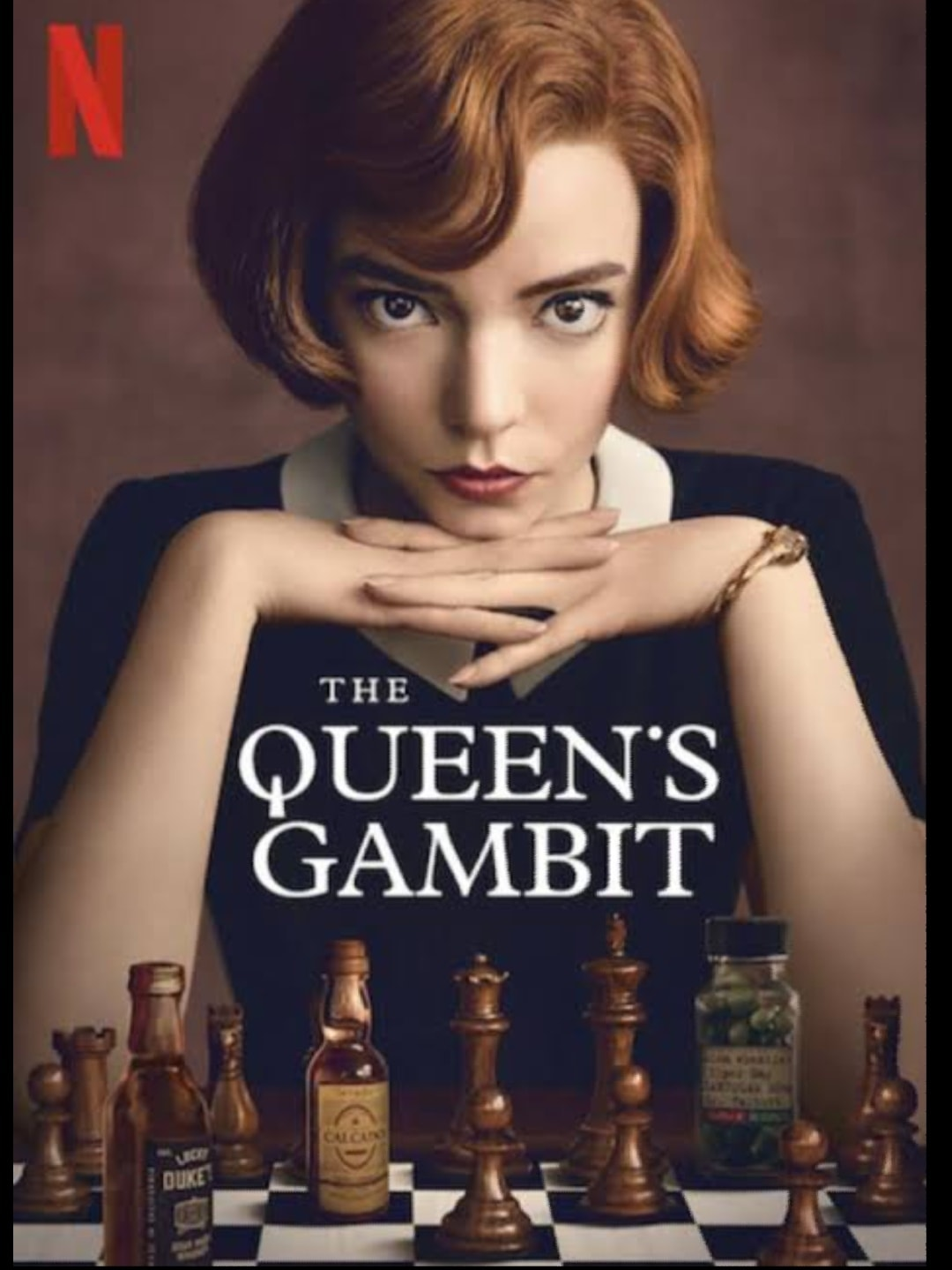 a passion to win and only win-The Queen's Gambit